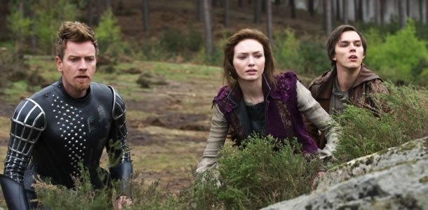 Ewan McGregor, Eleanor Tomlinson and Nicholas Hoult in Jack the Giant Slayer