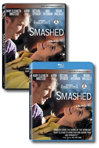 Smashed on DVD Blu-ray today