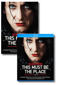 This Must be the Place on DVD Blu-ray today