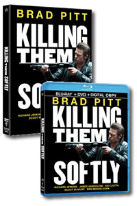Killing Them Softly on DVD Blu-ray today
