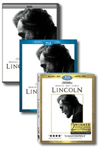 Lincoln (4-Disc Blu-ray) on DVD Blu-ray today
