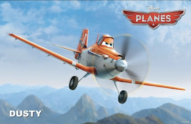 Dane Cook will voice Dusty in Planes