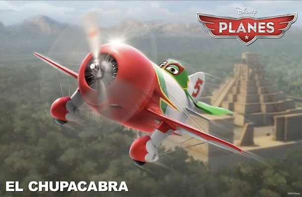 Carlos Alazraqui will voice El Chupacabra in Planes