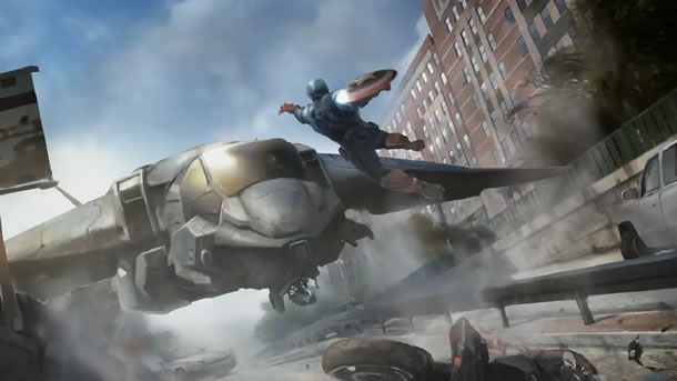 Captain America: The Winter Soldier Concept Art #2