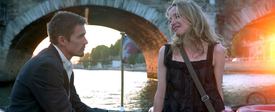 Before Sunset location map of Paris, France