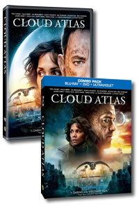 Cloud Atlas on DVD Blu-ray today