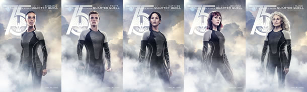 The Hunger Games: Catching Fire - Quarter Quell posters