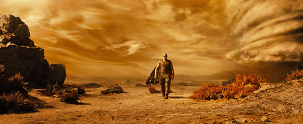 Riddick movie pictures and clips