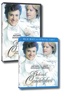 Behind the Candelabra on DVD Blu-ray today