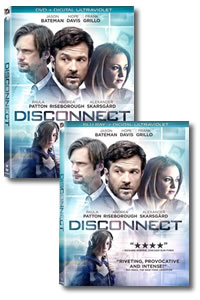Disconnect on DVD Blu-ray today