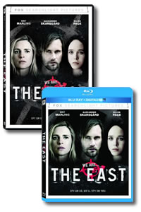 The East on DVD Blu-ray today