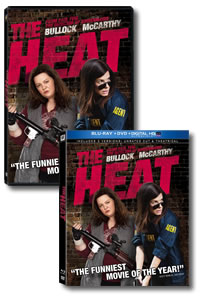 The Heat on DVD Blu-ray today