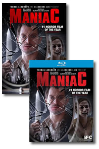 Maniac on DVD Blu-ray today