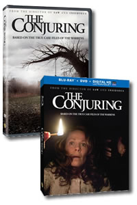 The Conjuring on DVD Blu-ray today