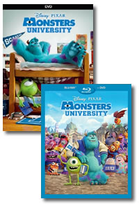 Monsters University on DVD Blu-ray today