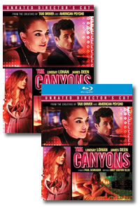 The Canyons on DVD Blu-ray today