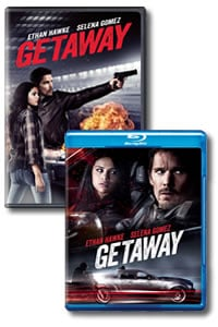 Getaway on DVD Blu-ray today