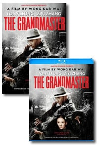 The Grandmaster on DVD Blu-ray today