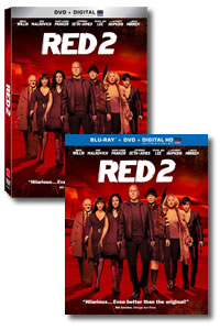 Red 2 on DVD Blu-ray today