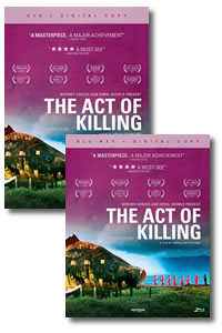 The Act of Killing on DVD Blu-ray today
