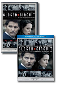 Closed Circuit on DVD Blu-ray today