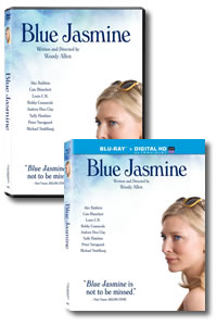 Blue Jasmine on DVD Blu-ray today