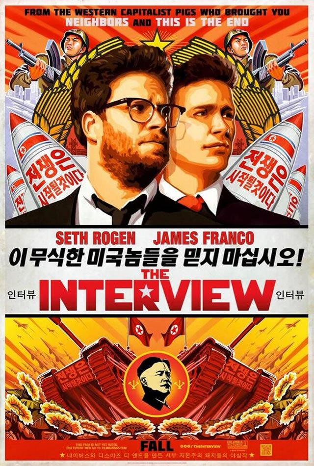 The Interview poster