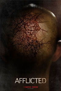 Afflicted on DVD Blu-ray today