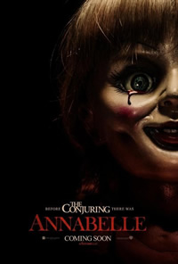 Annabelle on DVD Blu-ray today