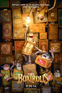 The BoxTrolls on DVD Blu-ray today
