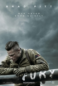 Fury on DVD Blu-ray today