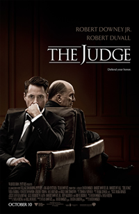The Judge on DVD Blu-ray today