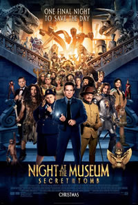 Night at the Museum: Secret of the Tomb on DVD Blu-ray today