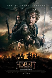 The Hobbit: The Battle of the Five Armies on DVD Blu-ray today