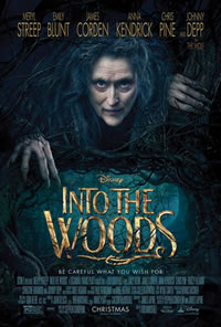 Into the Woods on DVD Blu-ray today