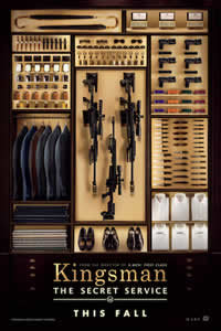 Kingsman: The Secret Service on DVD Blu-ray today