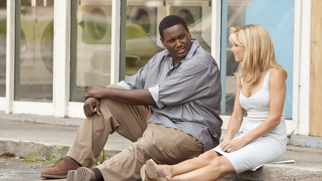 Michael Oher on The Blind Side