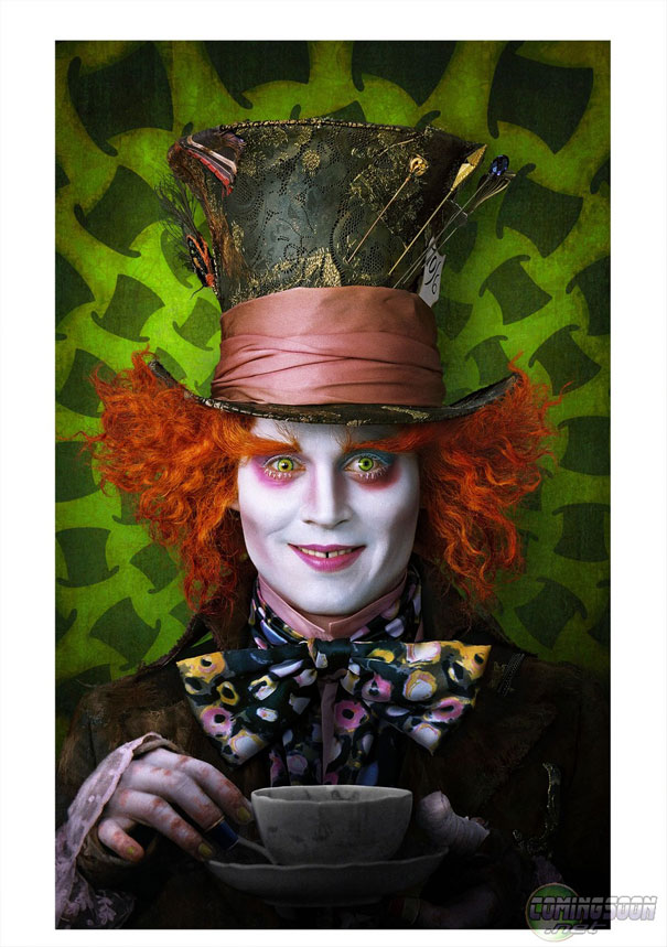 New Images From Tim Burtons Alice In Wonderland Comingsoonnet