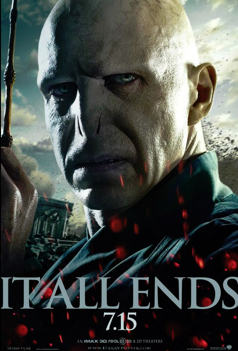 The Voldemort Banner For Harry Potter And The Deathly Hallows Part