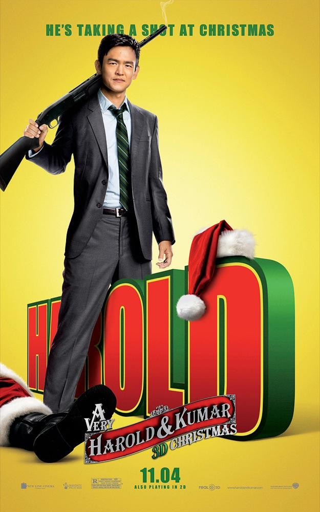 four new posters for a very harold kumar 3d christmas - Harold And Kumar 3d Christmas
