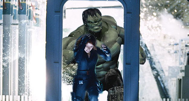 Go Behind the Special Effects of Marvel's The Avengers