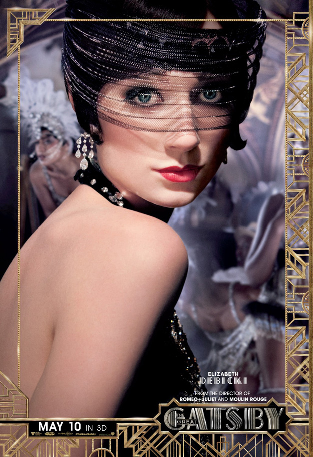 Six New Posters for Baz Luhrmann's The Great Gatsby ... The Great Gatsby 2013 Poster