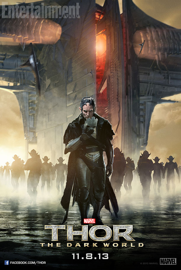 new malekith and heimdall posters for thor the dark world