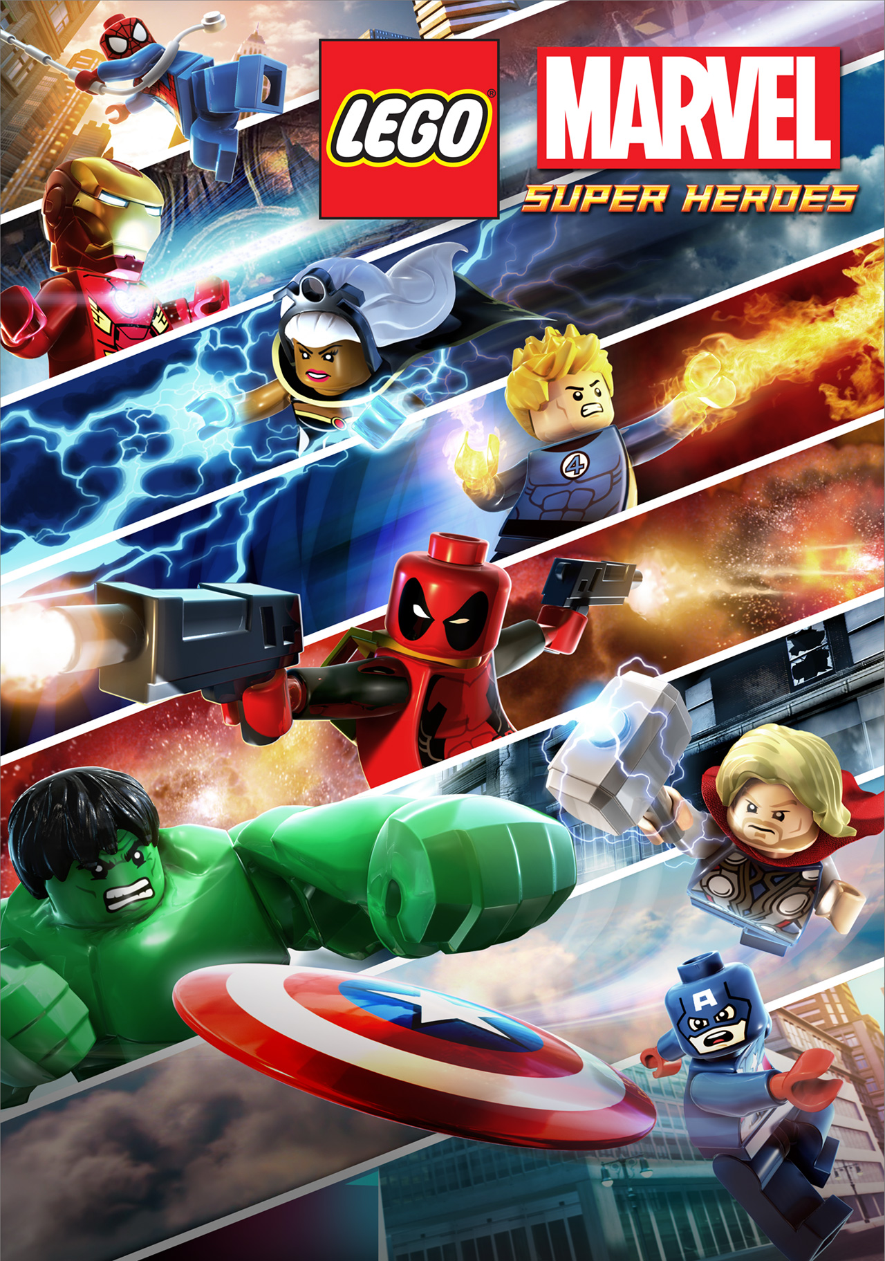 The new poster for lego marvel super heroes comingsoon the new poster for lego marvel super heroes voltagebd Gallery