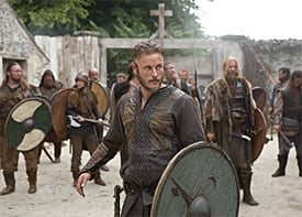 From the Set of History's Vikings - ComingSoon net