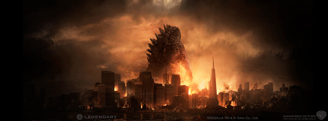 Two TV Spots for Godzilla Reveal New Footage