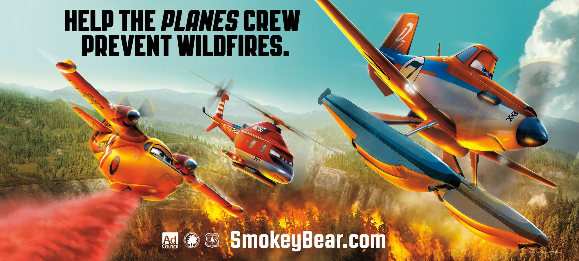 Planes Fire And Rescue Poster