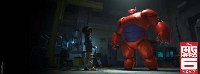 Sneak Preview for Big Hero 6 Reveals New Footage from Animated Film