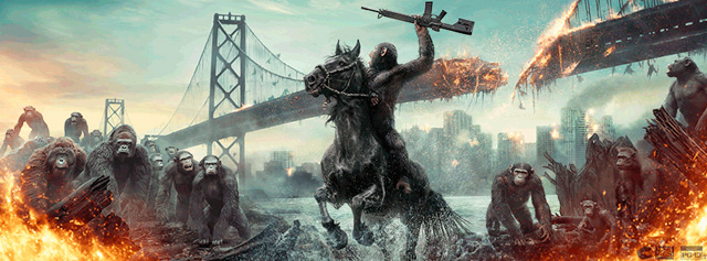 Hail Caesar! Dawn of the Planet of the Apes Hitting DVD and Blu-ray This December