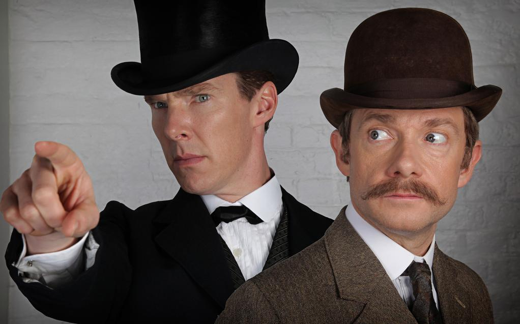 The Game's Afoot with New Images from the Sherlock Christmas ...